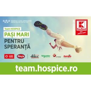 Fotbalistul Alexandru Chipciu, actorul Dorian Boguță și moderatorul tv Mihai Rădulescu susțin Team HOSPICE la Semimaratonul București