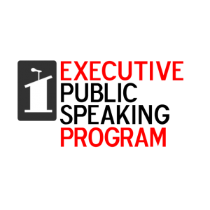 public speaking program. Executive Public Speaking Program