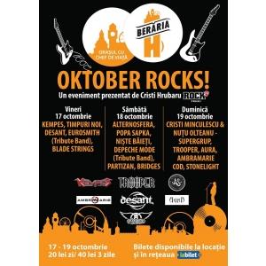 beraria h. Oktober Rocks! – Festivalul de rock al celei mai mari berarii din estul Europei