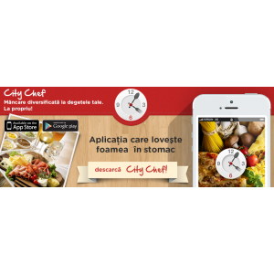 maart. City Chef pentru iOS si Android