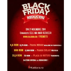Black Friday Kaldura.ro