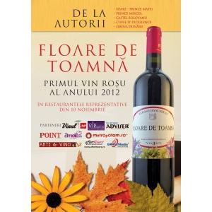 vin rosu. Degusta primul vin rosu al anului 2012
