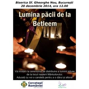 Universitatea Lumina. Lumina Păcii de la Betleem
