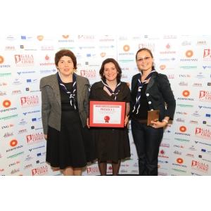"""Organizația Națională """"Cercetașii României"""", premiul I la Gala Societății Civile, pentru RoJam 2011"""