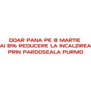 reducere cheltuili incalzire. Pana pe 8 Martie ai 8% reducere la incalzirea prin pardoseala PURMO, doar pe KALDURA.RO