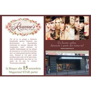 Roxanne's deschide un nou boutique chic. În Brașov.