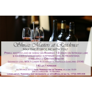 inot masters. Shiraz Masters at Residence