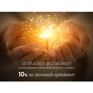 "Bijuteria Stil doneaza catre spitale 10% din vanzarile online. ""Cand daruiesti, stralucesti"" este un proiect umanitar in lupta impotriva COVID-19"