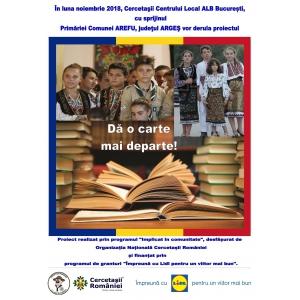 Campania « Dă o carte mai departe! », iniţiată de Centrul Local Alb Cercetaşii României