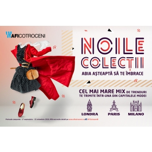 Descoperă noile colecții din AFI Cotroceni  care te pot trimite într-una din capitalele modei!