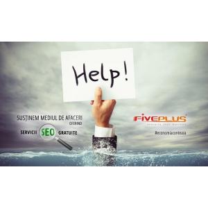 FivePlus Solutions sprijină mediul de afaceri prin servicii SEO gratuite