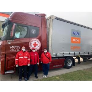 Ford Trucks, alături de Societatea Națională  Crucea Roșie România