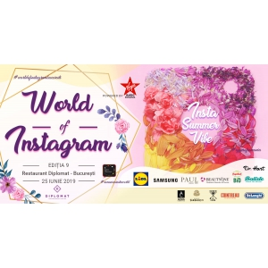 Insta Summer Vibe- Conferinta World Of Instagram , Editia a IX-a