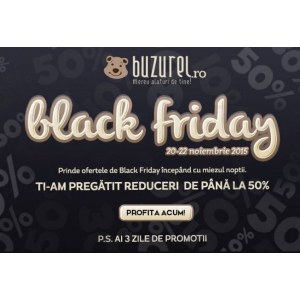 buzurel ro. Black Friday