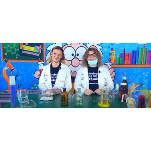 """NOUL sezon ,,Știința Altfel"""" aduce online lecțiile de chimie pentru clasa a VIII-a"""