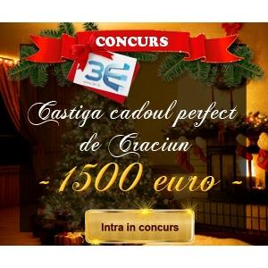 3e ro. Castiga cadoul perfect de Craciun! cu 3e.ro