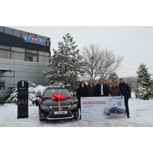 """Star Lubricants a desemnat câștigătorul campaniei """"Câștigă un Lexus cu Mobil 1"""""""