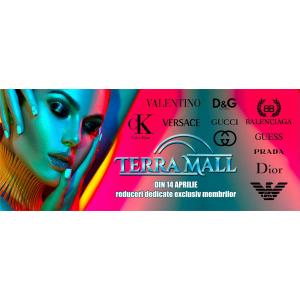 Terra Mall un magazin de fashion promite cele mai mici preturi la branduri renumite