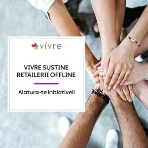 Vivre.ro sprijină retailul offline și online
