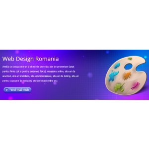 Oferta Web Design : Creare site in 3 zile + Promovare gratis