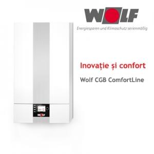 condensare. Centrala termica in condensare pe gaz Wolf