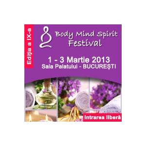 3 zile de relaxare gratuit !  la Body Mind Spirit Festival