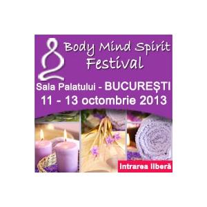 Camelia Patrascanu te invita la Body Mind Spirit Festival
