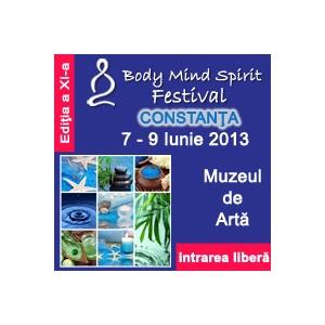 Parapsihologul Lucian Iordanescu la Body Mind Spirit Festival Constanta