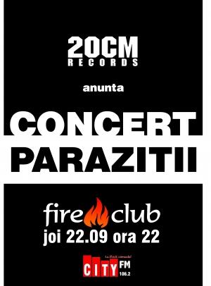 simptome paraziti copii. Concert Parazitii joi 22.09.2005 Fire Club