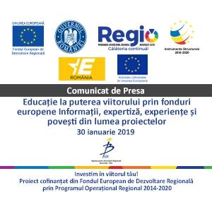 Conferința Eucație La Puterea Viitorului Prin Fonduri Europene - Informații, expertiză, experiențe și povești din lumea proiectelor