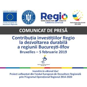 Contributia investitiilor Regio la dezvoltarea durabila a regiunii Bucuresti-Ilfov