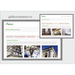 gekko construct. Relansare site Gekko Construct