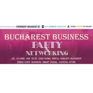 Bursa Romana de Afaceri te invita la Bucharest Business Party & Networking