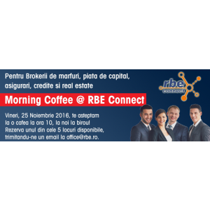 targ asigurari si imobiliare. RBE Connect pentru brokerii de asigurari, piata de capital, marfuri, credite si imobiliare
