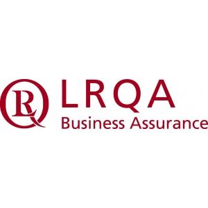 mangementul deseurilor. LRQA logo