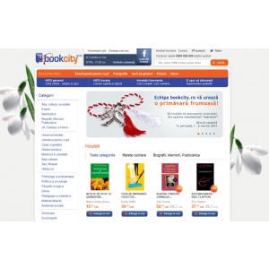 Lansare librărie online – Bookcity.ro
