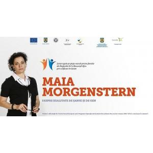 Maia Morgenstern. Întâlnire cu Maia Morgenstern, la Iași, joi 3 decembrie 2015