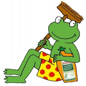 produse eco. Frosch - un brand ecologic/ Frosch, broscuta eco