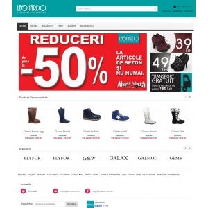 Leonardo lanseaza magazinul online. Profita acum de super ofertele de sezon, care vor ajunge la destinatia ta!