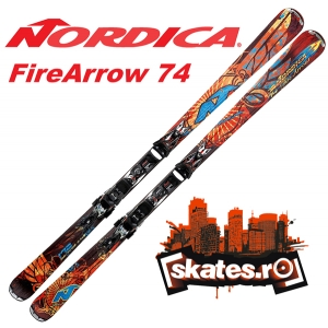 echipament schi. Schiuri Nordica Fire Arrow 74
