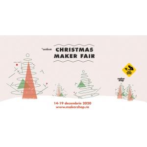 Christmas Maker Fair – Târgul online de Crăciun unde designerii, artizanii autohtoni și micii producători își pot vinde creațiile