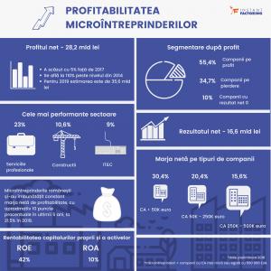 Infografic Profitabilitate Microintreprinderi 2018 Instant Factoring