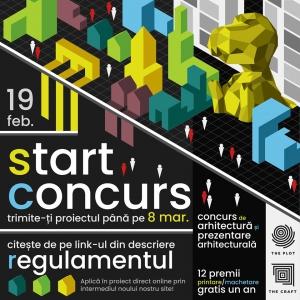 """THE PLOT & THE CRAFT împreună cu Universitatea de Arhitectură și Urbanism Ion Mincu lansează concursul pentru studenți """"A Doua Predare"""""""