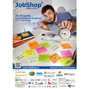 BEST Timisoara organizeaza a XX-a editie JobShop(R)