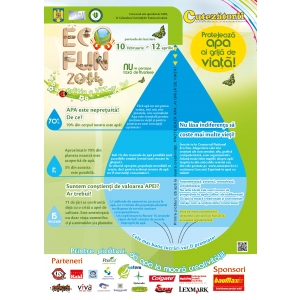 eco fun. Afis Concursul National Eco Fun