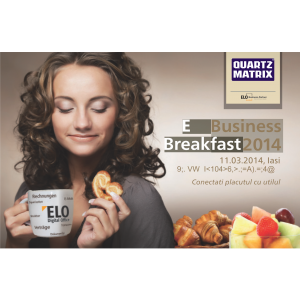Quartz Matrix. Quartz Matrix a organizat ELOBusinessBreakfast