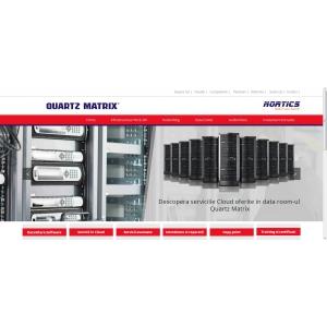 Quartz Matrix anunta lansarea paginii web www.nortics.ro dedicata serviciilor IT&C cu noi functionalitati si un nou design