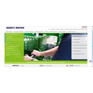 Senys. Noua pagina web www.senys.ro - proprietate Quartz Matrix