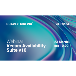Webinar gratuit - Veeam Availability Suite v10