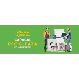 """Caracal participă în campania """"România Reciclează"""" Pe  16 noiembrie, locuitorii din Caracal reciclează!"""